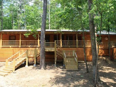 5br cabin vacation rental in broken bow oklahoma 127578 for Vacation cabin rentals in oklahoma