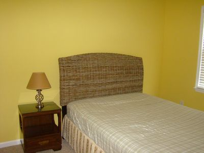 3rd BR ~ New Queen Pier 1 furn; bring your sheets ~all bedrooms have ceil fan