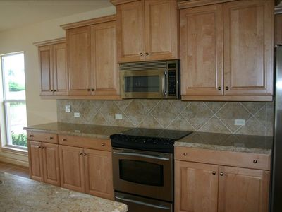 kitchen units with granite worktops