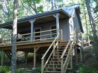 Loon Landing facing Great Pond - Franklin cabin vacation rental photo