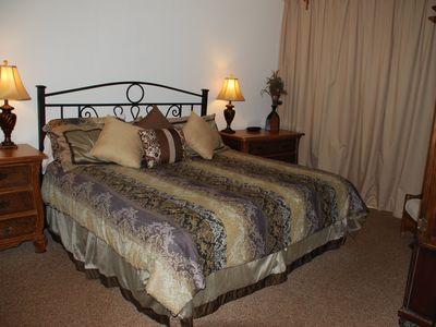 Spacious Master Bedroom with Luxurious King Bed
