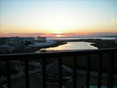 Breathtaking sunsets - this is your balcony view west, makes for a good night.
