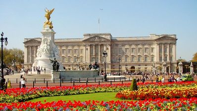 Buckingham Palace + St James Park for a relaxed walk - a short stroll from flat