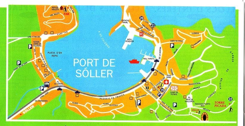 Soller Mallorca Spain Cruise Port of Call