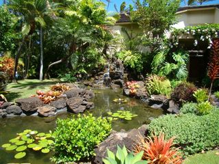 Kahala estate photo - tropical waterfall