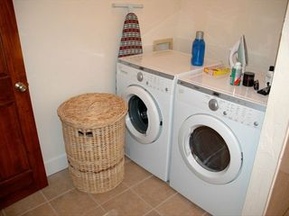 Brand new front loading washer and dryer - Colorado Springs house vacation rental photo