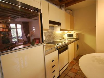 5th Arrondissement Latin Quarter studio rental - kitchen
