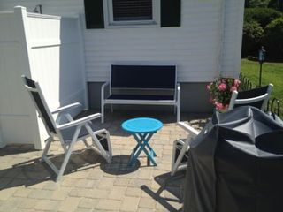 Narragansett Pier house photo - Patio and Outdoor Shower