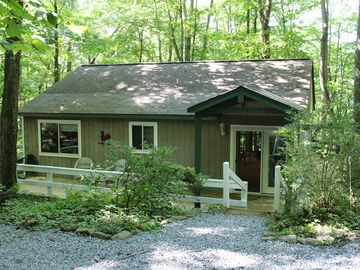 Maggie Valley house rental - Smoky Mountain Treehouse! You have arrived.