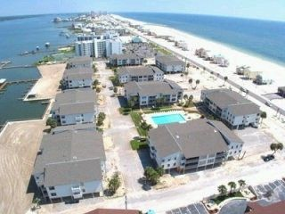 Gulf Shores condo rental - Aerial view of Sea Oats Condominium Complex