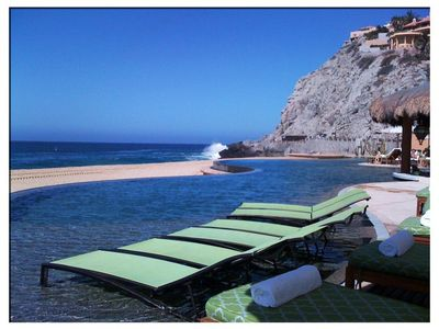 Cabo San Lucas house rental - Infinity Pool on Beach - Residences