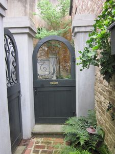 Entrance to Private Courtyard
