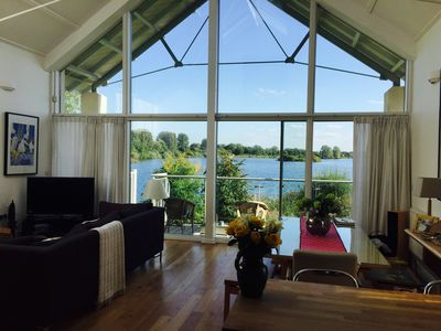 Lakeside Detached Home with Garden onto Lake and  Spa - Not looked upon