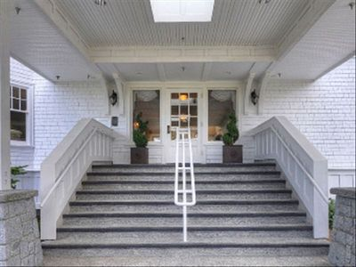 Qualicum Beach villa rental - Entrance