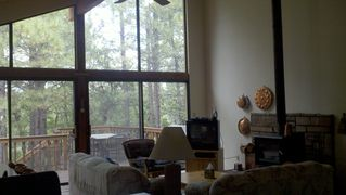 Flagstaff cabin photo - Comfortable Family Room, relax and recline