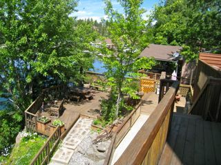 Spokane chalet rental - Multi level decks