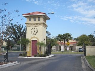 Club Cortile townhome photo - Resort Front Gate
