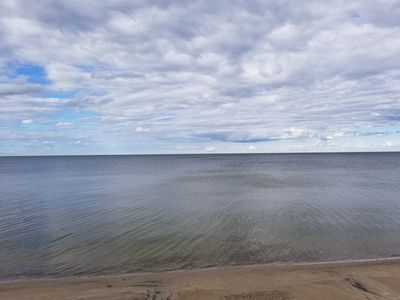 Quaint beach cottage with magnificent sunrises on Saginaw Bay/Lake Huron