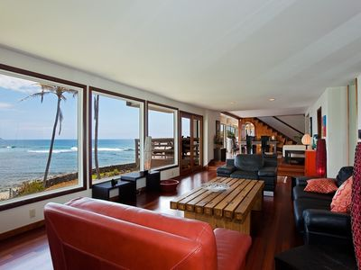 Living Room with Oceanviews
