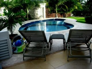 Playa Paraiso villa photo - Relax by the private pool and tropical garden!