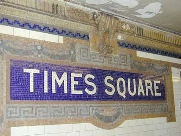 Times Square Subway 2 Blocks