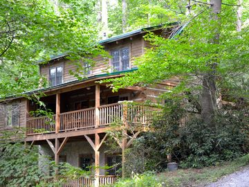 Valle Crucis cabin rental - Life is good at Life is Good!