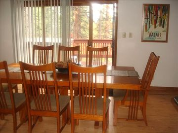 Heavenly Valley house rental - Dining Area