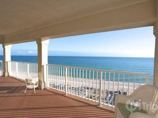 Orange Beach condo photo - Spacious balcony with amazing views!