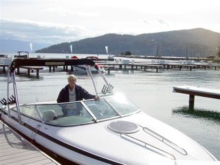 Our boat slip is available - Sandpoint condo vacation rental photo