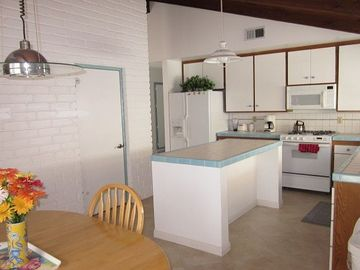 Nice sized kitchen with eat in area