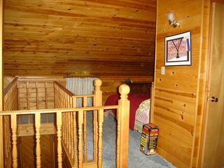 top of the stairs one loft bedroom - Lyman Lake house vacation rental photo
