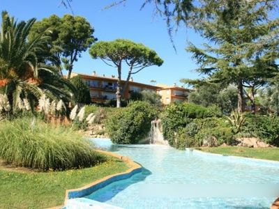 Apartment 500m from the beach with pool and beautiful gardens