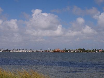 Area Photo - Looking East at Key Allegro Island from mainland Rockport