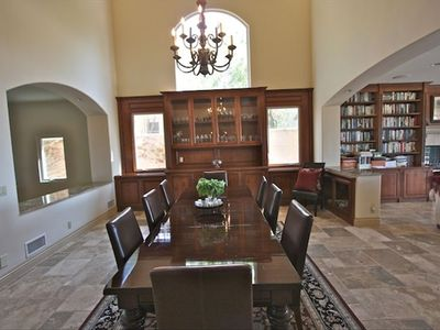 Formal dining room - can seat up to 12 - great entertainer's home