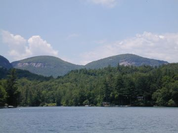 Lake Toxaway house rental - Lake and Mountain Views