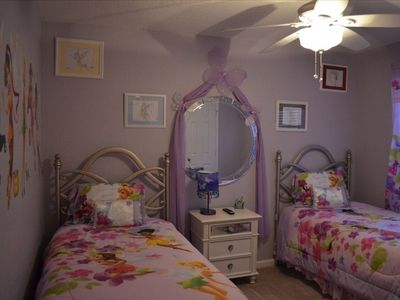 Disney Fairies upstairs kids room