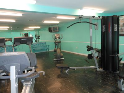 "Exercise Room will keep you ""in shape"""