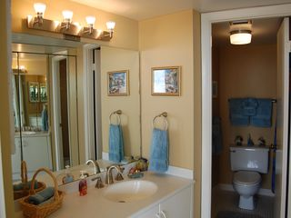 Daytona Beach condo photo - Master Bedroom Has Vanity Area Separate from Tub/Shower