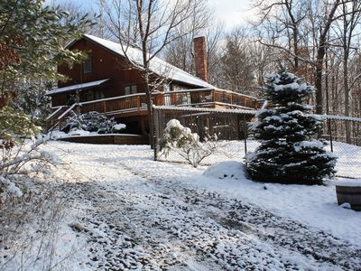 Tannersville house rental - winter