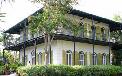 Take a tour of Hemmingway's house