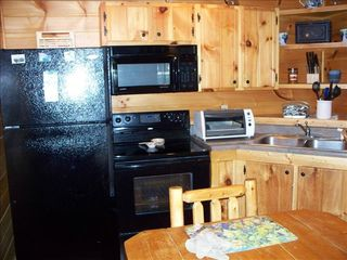 Gatlinburg cabin photo - Full kitchen, extra large dining table for family