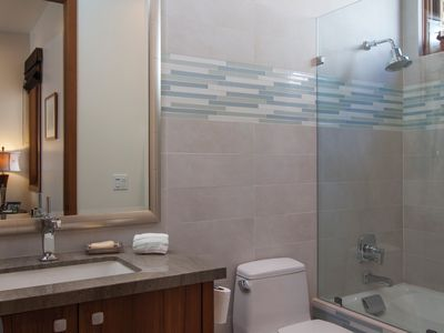 Full Bathroom attached to second bedroom
