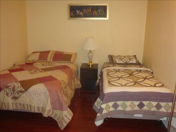 Second Bedroom with Full and Twin Bed