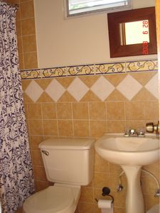 second bathroom in marquesina, full-sized shower