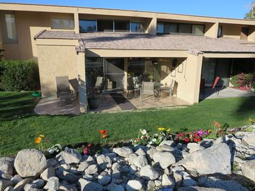 Palm Desert condo rental - Condo is Steps to Sparkling Pool and Spa