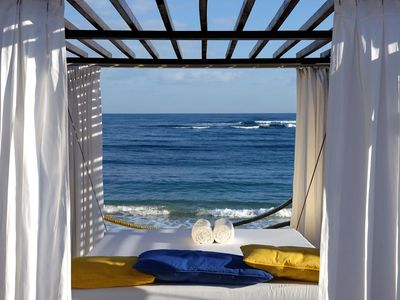 Draw The Curtains For Privacy With A View On VIP Beach