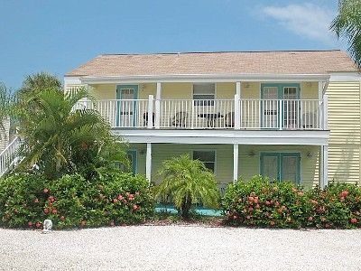 Front of Key West Style Duplex