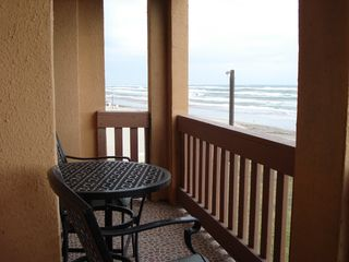 South Padre Island condo photo - Deck view