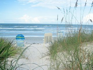 New Smyrna Beach house photo - Take the sandy white path to the beach