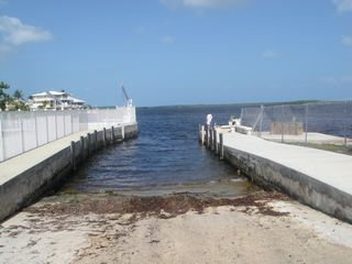 Key Largo house photo - Private concrete boat ramp